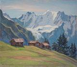 Im Wintertal, Gletscherhorn und Ebnefluh