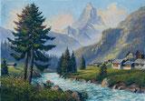 Matterhorn mit Vispa