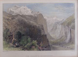 Nr.939 The Valley of Lauterbrunnen (Anno 1836)