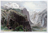 The Valley of Lauterbrunnen anno 1836