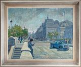 Strassenszene Paris 1956