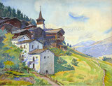 Grimentz im Val d'Aniviers, VS