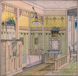 Intérieur Erkerzimmer
