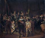 Die Nachtwache von 1642. Gemäldekopie