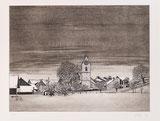 Dorflandschaft im Winter
