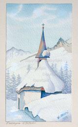 Kapelle Garvoglia bei Sedrun