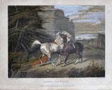 Fighting Arabs / 1832 datiert