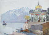 Pavillon in Montreux