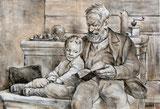 Bibelstunde mit Grossvater