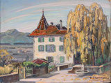 Partie vom Schloss Thun