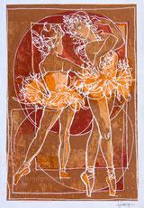 Ballett Tänzerinnen