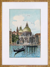 Gondoliere, Canale, Venezia
