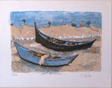 Les Barques aux St.-Maries