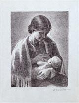 Martha beim Stillen
