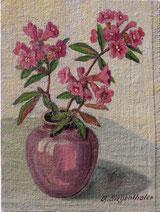 Alpenrosen in Vase