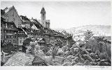 Aarau, Halde mit Stadtkirche