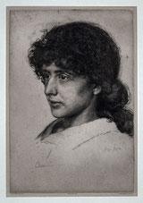 Nr.3353 Portrait Eva Dohm, 1886