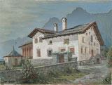 Patrizierhaus Von Salis (1605) in Sils Baselgia