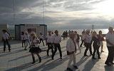 BAL GRATUIT grande plage de St Gilles croix de vie 12 juillet 2014 offert par LES COUNTRY DANCERS SUR VIE