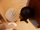 蜂の巣型の送風機