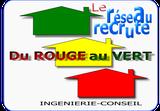 le réseau conseil en performance énergétique et diagnostics immobiliers du rouge au vert recrute des conseillers