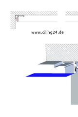Bild ALU-Deckenprofil
