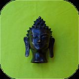 Statuette tête de bouddha