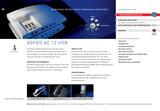 Titelbild Prospekt AGFEO AC 12 USB