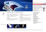 Titelbild Prospekt AGFEO AC 14 WebPhonie