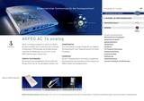 Titelbild Prospekt AGFEO AC 14 analog