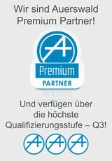Auerswald Center München: Auerswald Premium (Service) Partner mit Q3-Qualifizierung