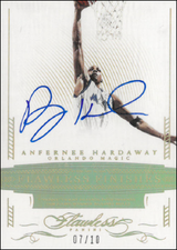 ANFERNEE HARDAWAY / Flawless Finishes - No. FF-AH  (#d 7/10)