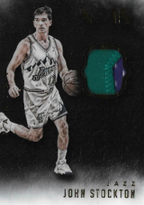JOHN STOCKTON / Noir Patch - No. ANP-JS  (#d 19/25)