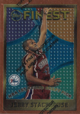 JERRY STACKHOUSE / Rookie card - No. 113