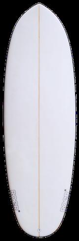 Frontansicht Pille Surfboard