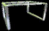 Bastidor, estructura de acero inoxidable para mesa