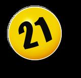 Lottozahl 21