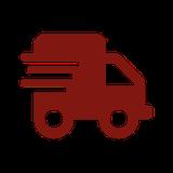 Icon LKW symbolisiert Lieferservice