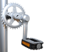 Exzentrische Kurbel bei Dreirädern von Van Raam Beratung, Probefahrt und kaufen in Frankfurt