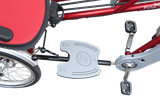Fußplatte bei Dreirädern von Van Raam Beratung, Probefahrt und kaufen im Oberallgäu