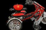 Drehbarer Sitz bei Dreirädern von Van Raam Beratung, Probefahrt und kaufen in Hamburg
