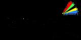 Respect for life! Logo im Kreis mit Regenbogen Symbol