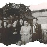 Ascensión con las jóvenes de Acción Católica en Villacañas, año 1936