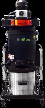 AirMex FAB-22 ATEX Industriesauger ATEX Absauganlage mit Absaugarm Ex-Schutz