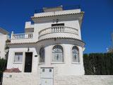 Vooraanzicht Villa Casa del Lago, San Fulgencio Costa Blanca