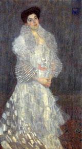 Gustav KLlimt Portràt Hermine Gallia 1904