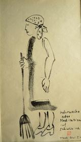 Kehrwoche oder: Meditation auf Schwäbisch