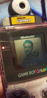 GameBoy camera selfie