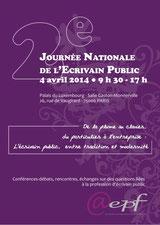 journée nationale des écrivains publics