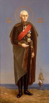 Ушаков Федор Федорович, Святой праведный воин, икона